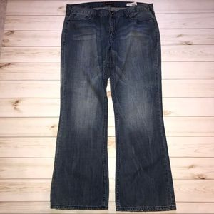 Guess Marcus Relaxed Boot Distressed Jeans 40/32